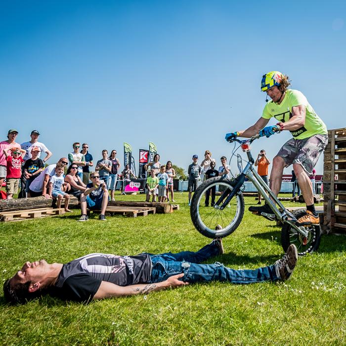 Papendal flatland bike trial